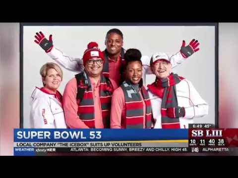 Official Uniform Supplier of the Atlanta Super Bowl LIII