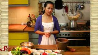 """""""Som Tam"""" oder """"Grüner Papaya Salat"""" -Thailändische Küche-"""