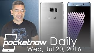 Galaxy Note 7 edge leaked on video, new Google VR project & more - Pocketnow Daily