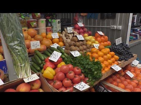 Скільки коштують продукти на ринку в Житомирі за місяць до Нового року 2018