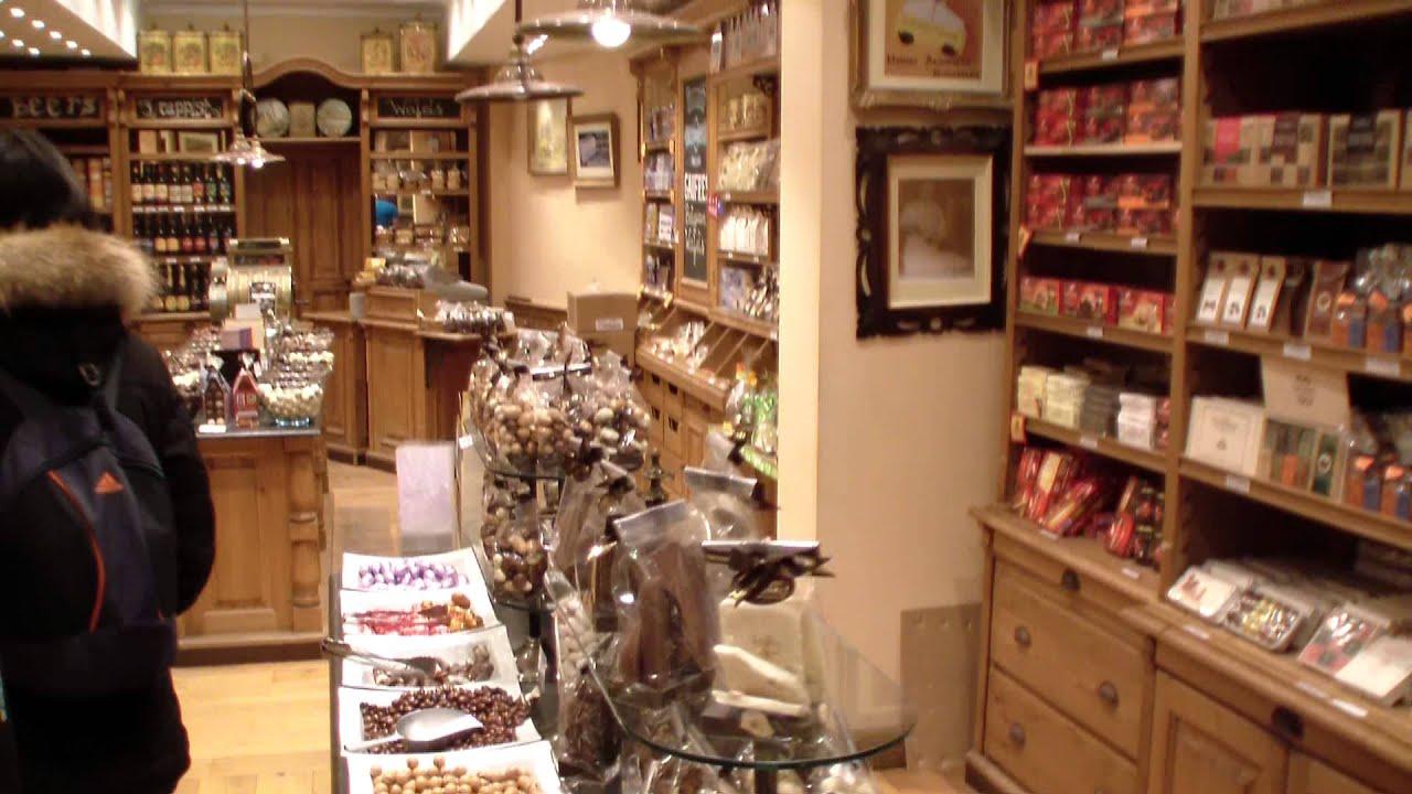 Шоколадный бутик Mary в Москве. - YouTube