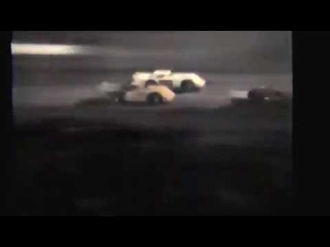 1985 races at Black Hills Speedway #105 Nationals Late Model heat race