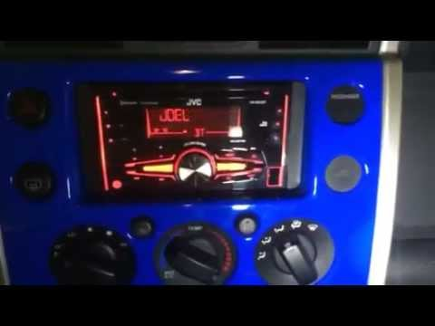 land cruiser radio wiring diagram sony cdx l510x toyota fj install youtube