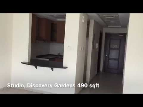 Studio Apartment For Rent in Discovery Gardens - Type 1