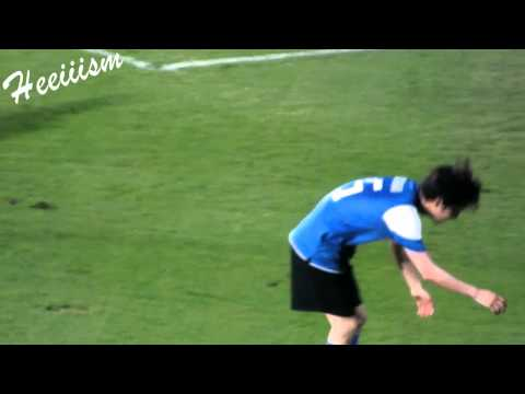 [fancam]230512 Joongki play soccer cute moment @ Asian dream cup Thailand