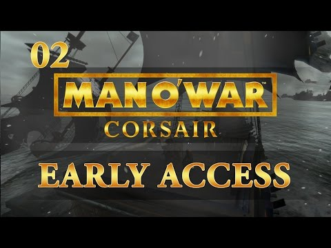 Let's Play Man O' War: Corsair - Ep.02 - Zombies on Board - Man O' War: Corsair Gameplay!