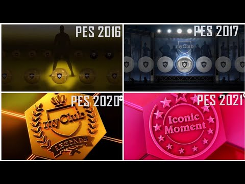 Evolution of Pes Mobile / Console Pack Opening Animation From 2016 - 2021 |
