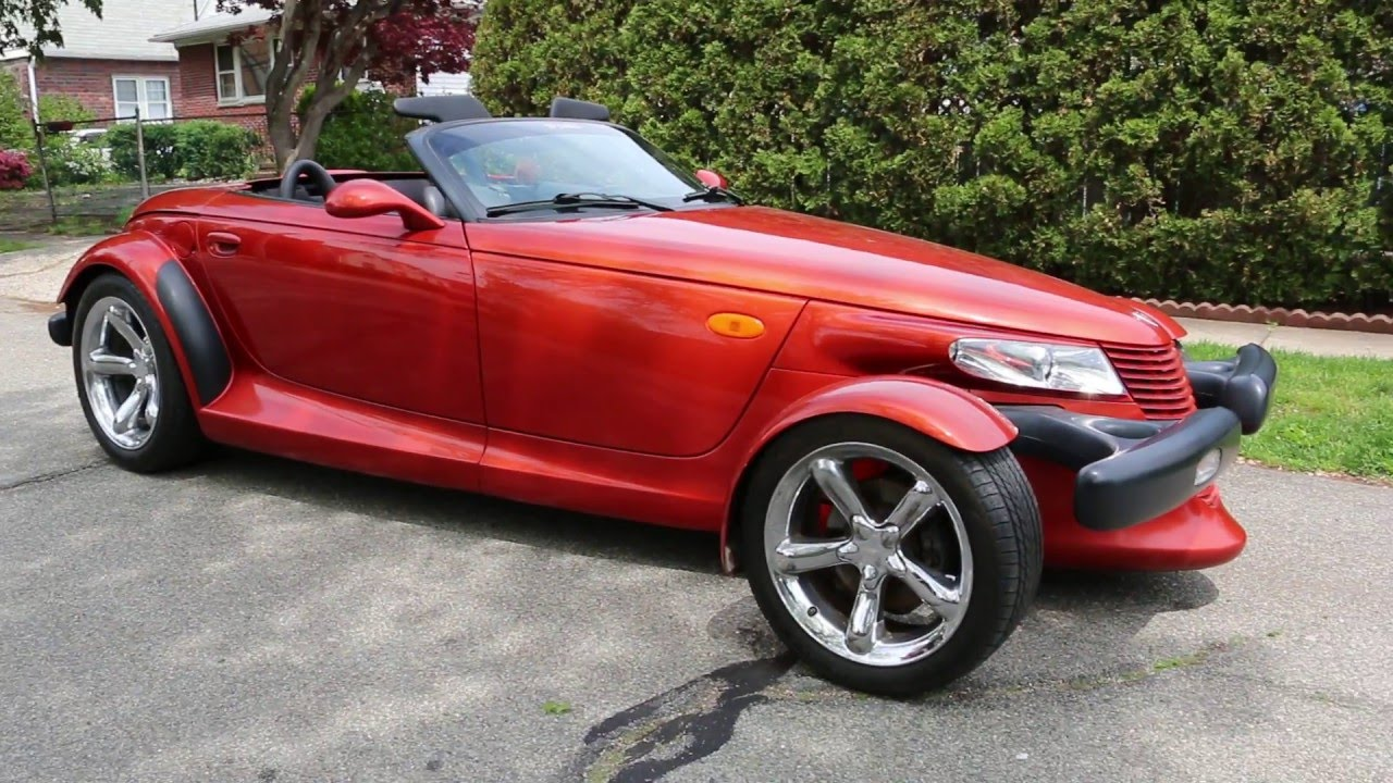 2001 Plymouth Prowler For Sale~Low Miles~Prowler Orange~Priced 2 SELL! - YouTube