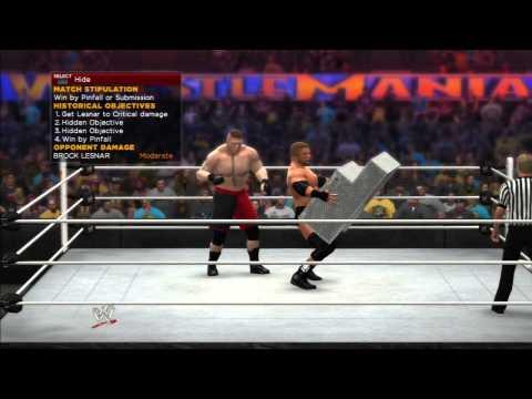 WWE 2K14: TRIPLE H VS BROCK LESNAR - 30...