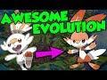 NEW Pokemon Gen 8 Starter Pokemon Evolutions!