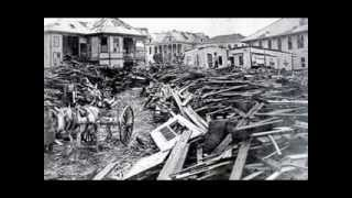 Part III of IV~Disasters Of 19th & 20th Centuries: Galveston Hurricane 1900