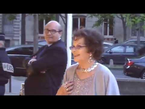 Claudia CARDINALE à Paris le mardi 1er avril 2014 au Diner Unitaid