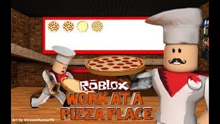 Roblox- Work At The Pizza Place