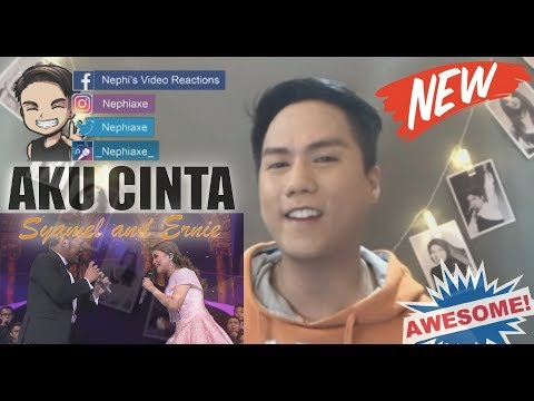 Vocalist Reacts to Syamel and Ernie Zakri singing Aku Cinta