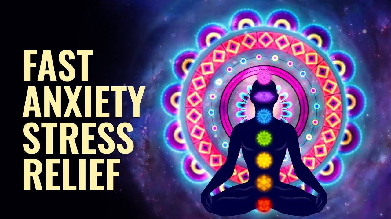 417 Hz Fast Anxiety, Stress Relief: Let Go of Mental Blockages, Binaural Beats | Calming Vibration