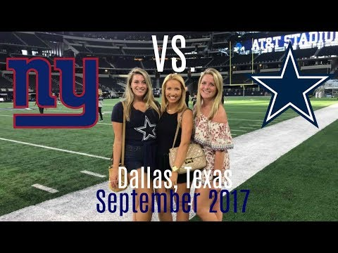 Weekend Trip to Dallas for the Cowboys Season Opener