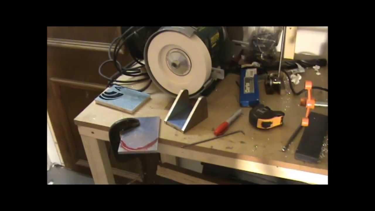 Homemade Lathe Tool Grinding Jig Youtube