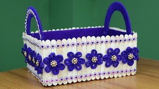 Easy Crafts Ideas - Best out of waste - Beautiful Showpiece Making Idea - DIY Home Projects