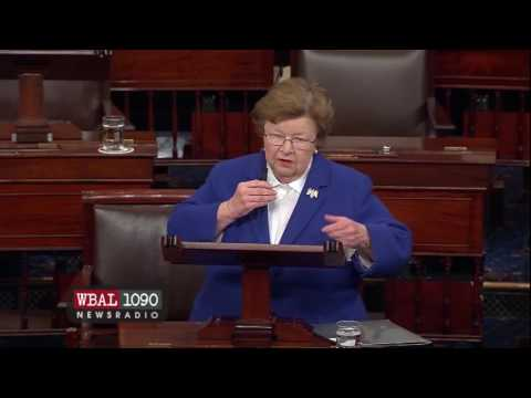 Sen. Barbara Mikulski gives farewell address on Senate floor