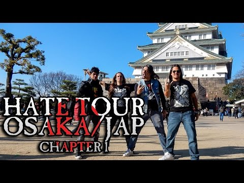 Vingador [Tour Report] - True Thrash Fest 2016 @ Osaka/JP - Chapter 1 [EN Subtitles]