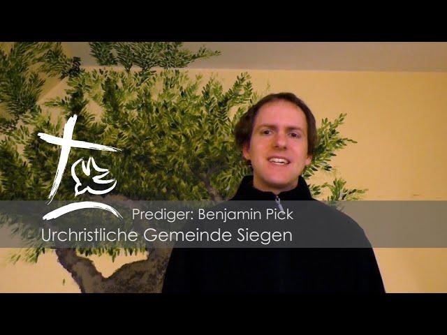 UGS - Predigt vom 17.05.2020 - Benjamin Pick - Herrnhut