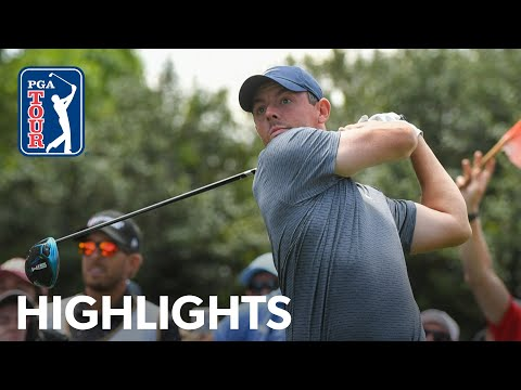 Rory McIlroy shoots 5-under 66 | Round 2 | Wells Fargo | 2021