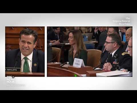 WATCH: Rep. Jordan criticizes Vindman for discussing Trump Ukraine call | Trump impeachment inquiry