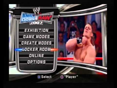 Smackdown vs raw Games