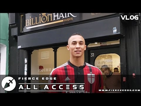 BEN WHITTAKER Fierce Edge VLOG ALL ACCESS #03 The Barbershop