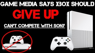 UNREAL!! Big Games Journalist Says Xbox Should Give Up, They Can't Compete With PS4 Or PS4 Games!