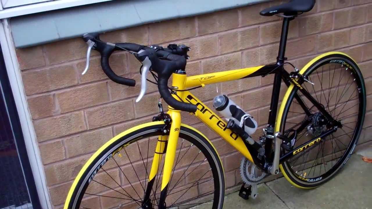 My Carrera Tdf 2012 Road Bike Upgraded Youtube