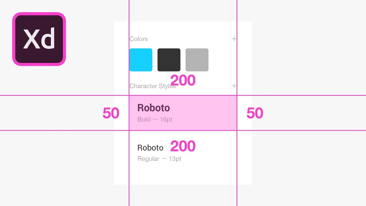 Handoff Design Specs Adobe XD Tutorial
