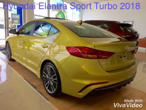 Hyundai Elantra Sport Turbo 2018