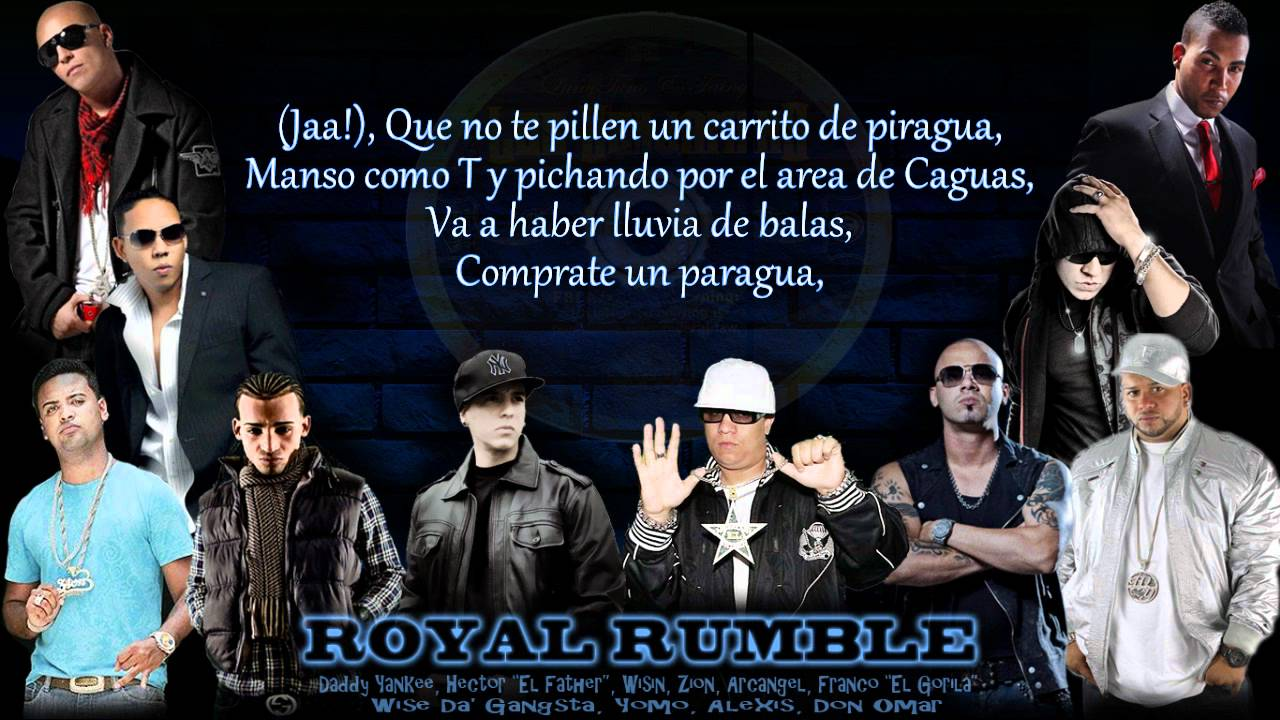 "Download Los Benjamins - Royal Rumble ""Se Van""   (Mas Flow: Los Benjamins) © 2006."