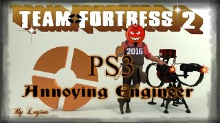 Team Fortress 2 PS3 Annoying Engineer Gameplay 2016