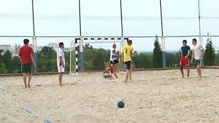 Пляжный гандбол в Белгороде