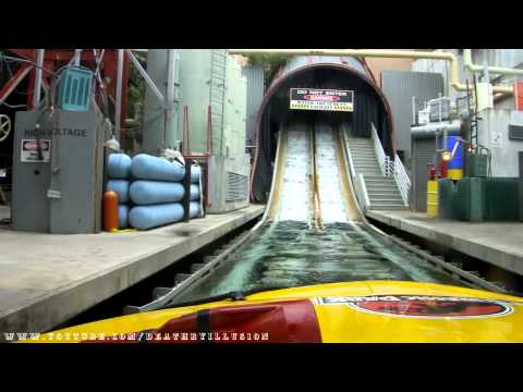 Jurassic Park The Ride River Adventures Front Seat (HD POV)