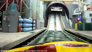 Jurassic Park The Ride River Adventures Front Seat (HD POV) Universal Studios Hollywood