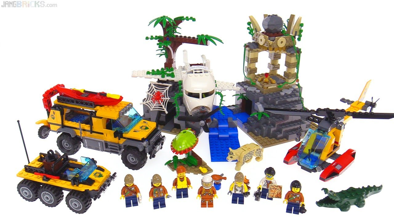 Lego City Jungle Exploration Site Review 60161 Youtube