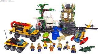 LEGO City Jungle Exploration Site review 🐆 60161