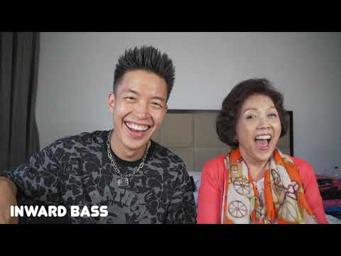 I teach my 70 year old mom how to beatbox