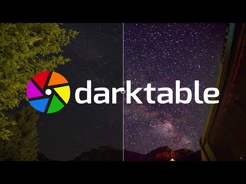 Milky Way Photography a darktable tutorial thumbnail