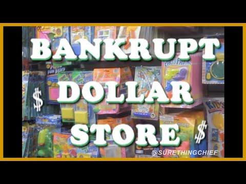 BANKRUPT DOLLAR STORE!