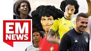 Poldi besser als Ronaldo, Iren-Fans singen mit der Polizei - EM-News