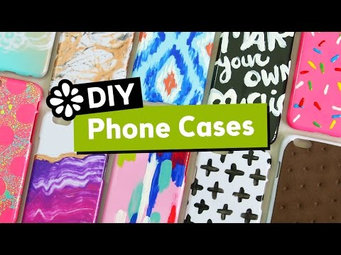 10 Cute & Easy DIY Phone Cases | Sea Lemon