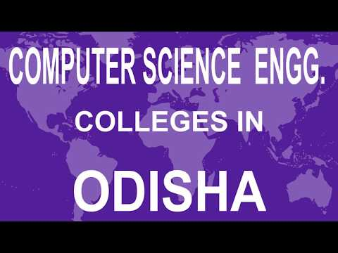 Best Computer Science Engineering Colleges in Odisha
