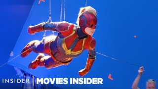 What 8 Marvel Movies Looked Like Behind The Scenes   Movies Insider