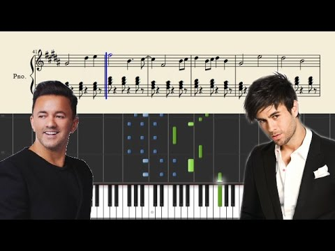 RedOne - Don't You Need Somebody - Piano Tutorial + Sheets