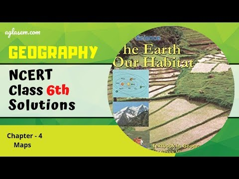 NCERT Solutions Class 6 Geography Chapter 4 Maps – NCERT – Books