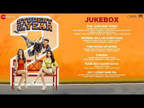 Student Of The Year 2 - Full Movie Audio Jukebox |  Tiger Shroff | Tara | Ananya | Vishal & Shekhar
